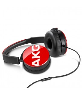 Casti AKG Y50 Red, casti on ear cu microfon