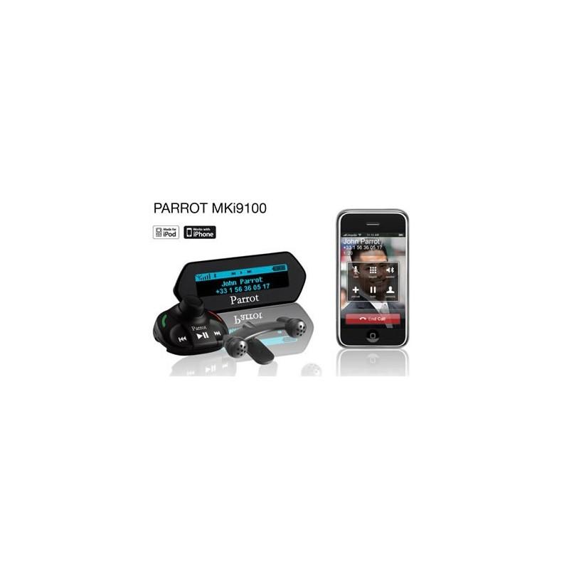 car kit parrot mki 9100 cu bluetooth pentru iphone ipod. Black Bedroom Furniture Sets. Home Design Ideas