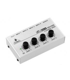 Behringer Micromix MX400, mixer audio analog