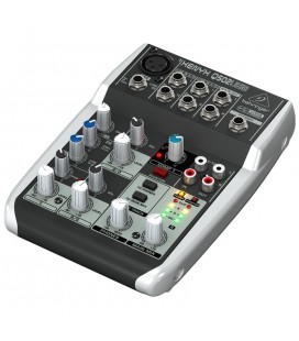 Mixer Behringer Xenyx Q502USB, audio profesional analog cu USB