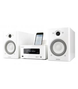 Denon CEOL Picollo white, micro sistem stereo hi-fi