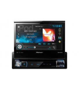 Pioneer AVH-X7500BT, dvd player auto 1DIN, bluetooth