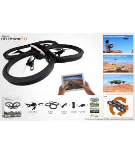 Parrot AR.Drone 2.0 Power Edition - Quadricopter