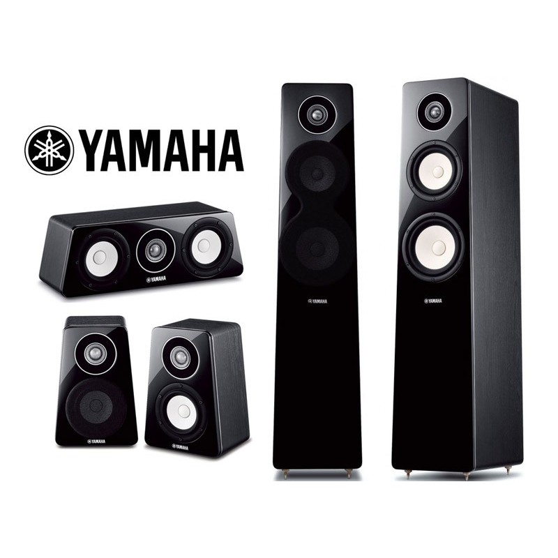 Yamaha ns f500 5 0 pack set boxe 5 0 yamaha ns f500 5 0 for Yamaha ns 50 speaker pack