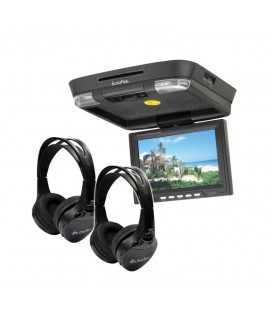 Monitor auto de plafon InPhase IVR11 11inch USB dvd player