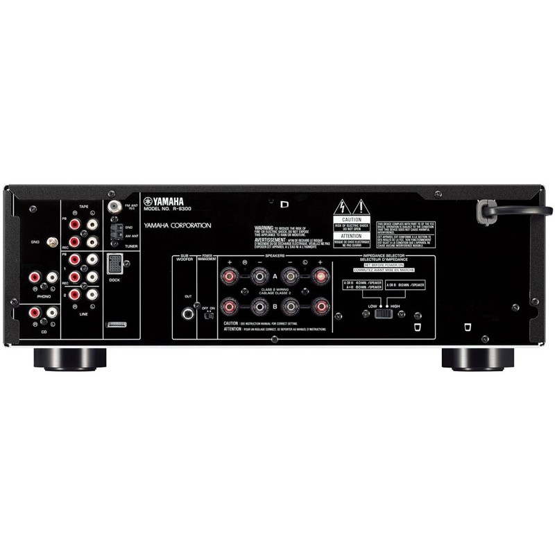 yamaha r s300 receiver a v stereo hi fi. Black Bedroom Furniture Sets. Home Design Ideas