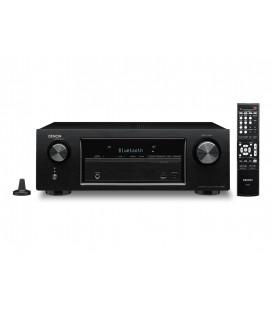 Receiver AV 5.2 Denon AVR-X520BT, Bluetooth®, HDCP 2.2-Capable, 4K Ultra HD Pass-through