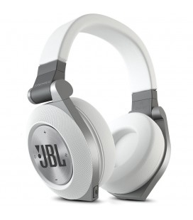 Casti wireless JBl Synchros E50BT white, casti on ear Bluetooth