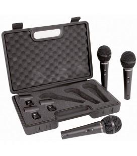 Microfon Behringer XM1800, set de 3 microfoane
