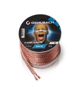 Cablu Oehlbach 107, cablu boxe 2x1.5 mm - rola 30m