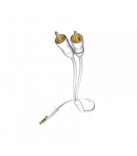 Cablu audio stereo Inakustik Jack Plug Audio Cable, 1.5m