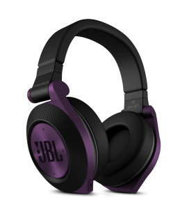 Casti wireless JBL Synchros E50BT Purple, casti on ear Bluetooth