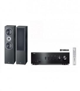 Amplificator Stereo Yamaha A-S301 si Boxe Magnat Supreme 802