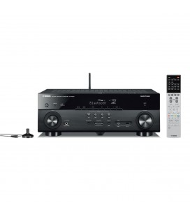 Receiver AV 5.1 Yamaha RX-A550 black, WI-FI, Airplay, Bluetooth, 4K Ultra HD, HDCP 2.2