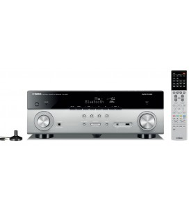 Receiver AV 5.1 Yamaha RX-A550 Titan, WI-FI, Airplay, Bluetooth, 4K Ultra HD, HDCP 2.2