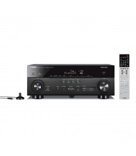 Receiver AV 7.2 Yamaha RX-A750 Black, WI-FI, Airplay, Bluetooth, 4K Ultra HD, HDCP 2.2