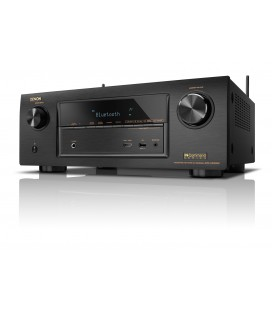 Receiver AV 7.2 Denon AVR-X3200W Black, Wi-Fi, Airplay, Bluetooth, 4K Ultra HD, HDCP 2.2