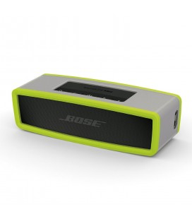 Boxa portabila wireless Bose SoundLink Mini SERIE II CARBON cu HUSA SOFT COVER GREEN