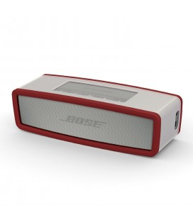 Boxa portabila wireless Bose SoundLink Mini SERIE II PEARL cu HUSA SOFT COVER Dark Red