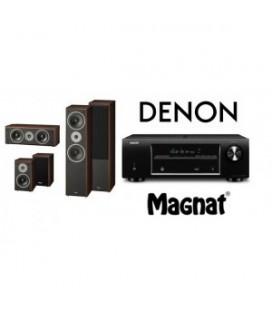 Receiver Denon AVR-X520BT cu Set de Boxe 5.0 Magnat Supreme 802,102,252