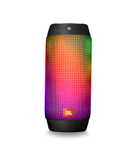 Boxa wireless portabila JBL Pulse 2 BLACK cu Bluetooth si LED Lights