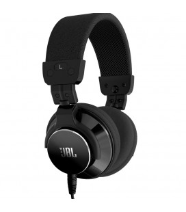 Casti on ear cu microfon JBL BassLine Black