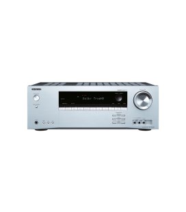 Receiver AV Onkyo TX-SR343 Silver 5.1 surround, 4K UltraHD, HDCP 2.2, Bluetooth
