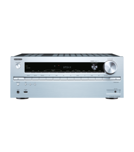 Network AV Receiver Onkyo TX-NR747 Silver 7.2 surround UHD 4K, Hi-Res Audio, Wi-fi, THX, DTS-X, Bluetooth
