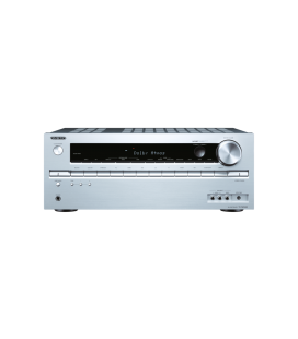 Network AV Receiver Onkyo TX-NR545 Silver 7.2 surround UHD 4K, Hi-Res Audio, Wi-fi, DTS-HD, Bluetooth