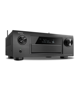 Receiver AV 9.2 Denon AVR-X6200W Black, Wi-Fi, Airplay, Bluetooth, 4K Ultra HD, HDCP 2.2