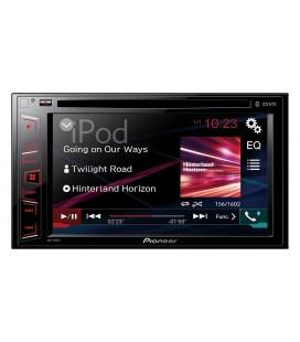"DVD Auto Pioneer AVH-280BT, Bluetooth, USB, 6.2"" Clear Type touchscreen"