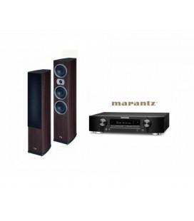 Receiver Marantz NR1506 cu Set Boxe 5.0 Heco Victa Prime 702, 202, C102