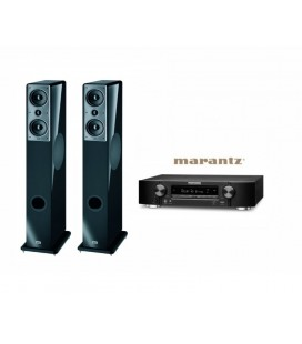 Receiver Marantz NR1506 cu Set Boxe 2.0 Heco Music Colors 200