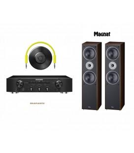 Amplificator stereo Marantz PM5005 Black cu Boxe Magnat Supreme 802 si Google Chrome Cast