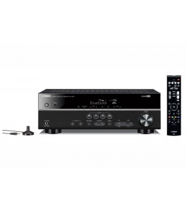 Receiver AV 5.1 Yamaha RX-V381 BLACK, Bluetooth, 4K Ultra HD, HDCP 2.2