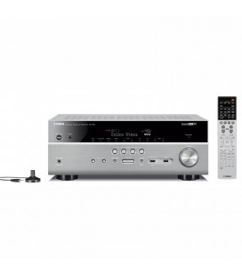 Receiver AV 7.2 Yamaha RX-V681 Black, Wi-Fi, Bluetooth, 4K Ultra HD, HDCP 2.2, MusicCast, Phono