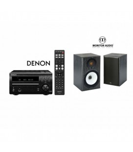 Micro sistem stereo Hi-fi Denon RCD-M40  cu Boxe Monitor Audio MR1