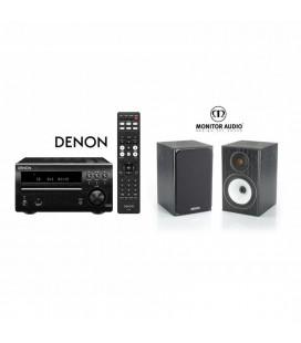 Micro sistem stereo Hi-fi Denon RCD-M40  cu Boxe Monitor Audio BX1