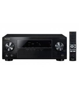 Receiver av Pioneer VSX-330-K, receiver A/V 5.1 canale UHD 4K