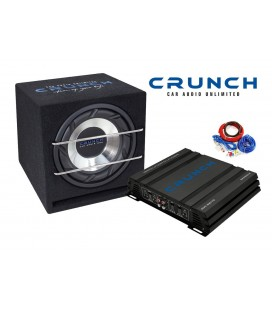 Pachet subwoofer auto Crunch Junior Box Pack