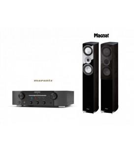 Amplificator stereo Marantz PM7005 Black cu Magnat Quantum 675 Black