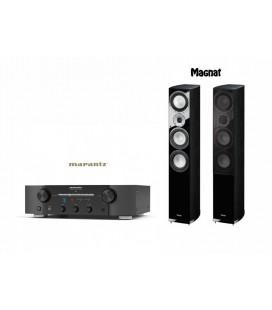 Amplificator stereo Marantz PM7005 Black cu Magnat Quantum 677 Black
