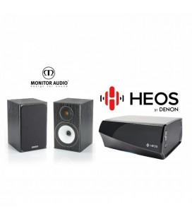 Amplificator Denon Heos Amp cu Boxe Monitor Audio Bronze BX1