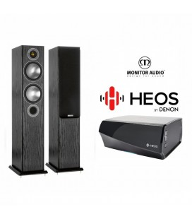 Amplificator Denon Heos Amp cu Boxe Monitor Audio Bronze 5