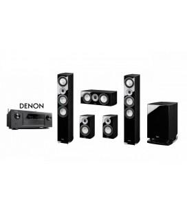 Receiver DENON AVR-X3200 cu Set Boxe 5.1 Magnat Quantum 677 5.1