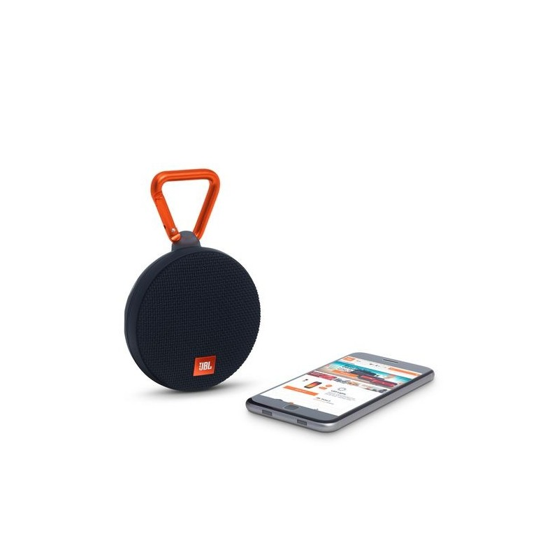 boxa portabila wireless cu bluetooth jbl clip 2 black. Black Bedroom Furniture Sets. Home Design Ideas