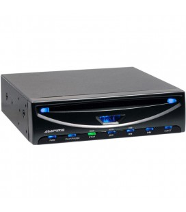 DVD player auto Ampire Ampire DVX104, USB, compatibil iPhone, ipod