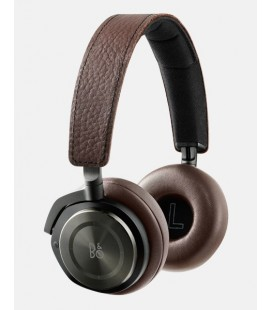 Casti wireless on ear cu microfon Bang & Olufsen Beoplay H8 Grey Hazel