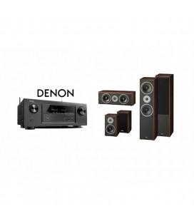 Receiver DENON AVR-X1300W cu Set Boxe 5.0 Magnat Supreme 802