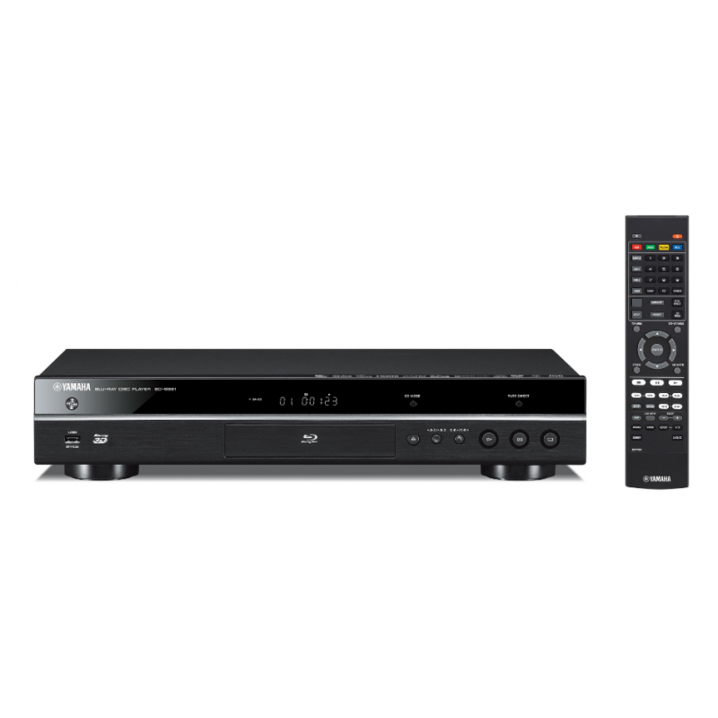 blu ray player yamaha bd s681 black miracast wi fi buit. Black Bedroom Furniture Sets. Home Design Ideas